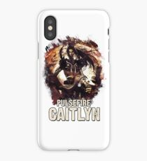 Pulsefire Caitlyn - League of Legends iPhone Case/Skin