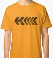 H - Black Classic T-Shirt