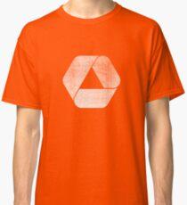 Overlap - White Classic T-Shirt