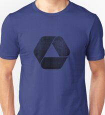 Overlap - Black Unisex T-Shirt