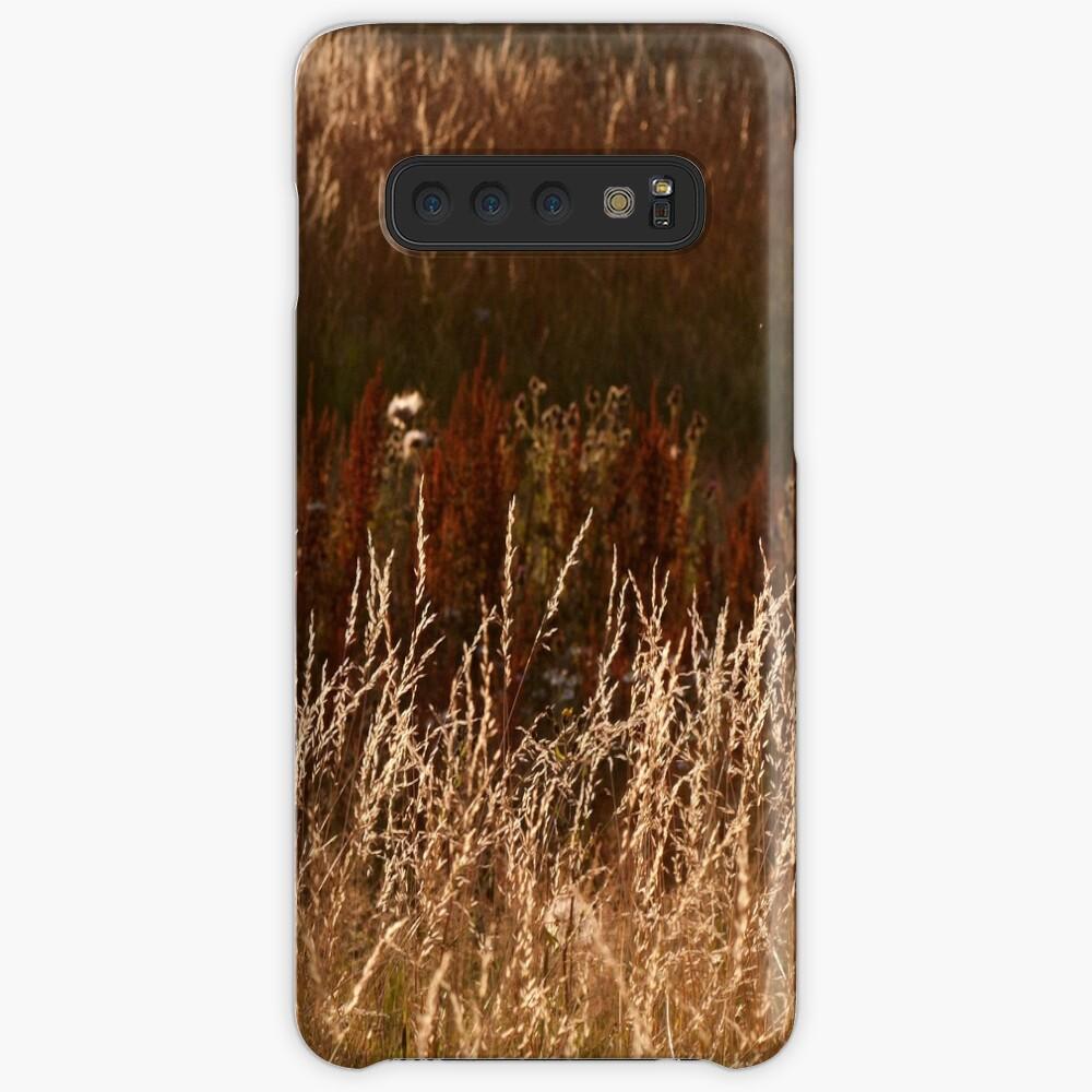 Autumn grasses Case & Skin for Samsung Galaxy