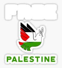 Free Palestine and Save Gaza T-Shirt Sticker