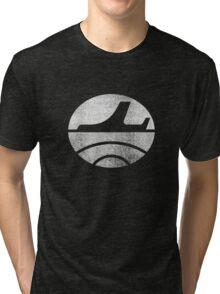 Travel - White Tri-blend T-Shirt