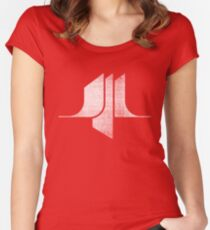 Sci-Fi - White Women's Fitted Scoop T-Shirt