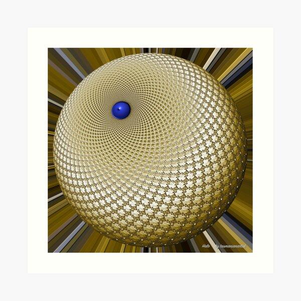 D1G1TAL-M00DZ ~ GALLIMAUFRY ~ Halo-1 by tasmanianartist Art Print