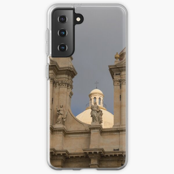 Perfectly Placed Ray of Sunshine - Noto Cathedral Saint Nicholas of Myra  Samsung Galaxy Soft Case