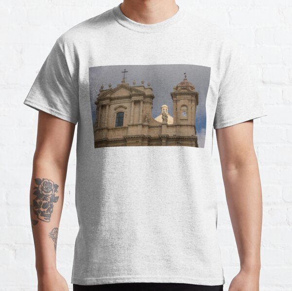 Perfectly Placed Ray of Sunshine - Noto Cathedral Saint Nicholas of Myra  Classic T-Shirt