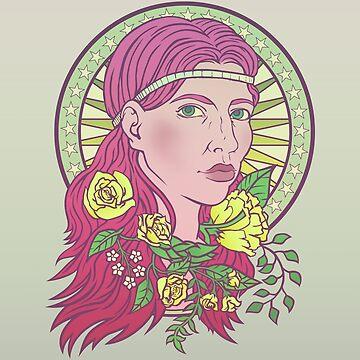 Flora Goddess by saraadrian