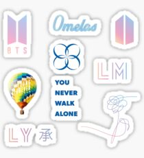 BTS LOGO PACK Sticker