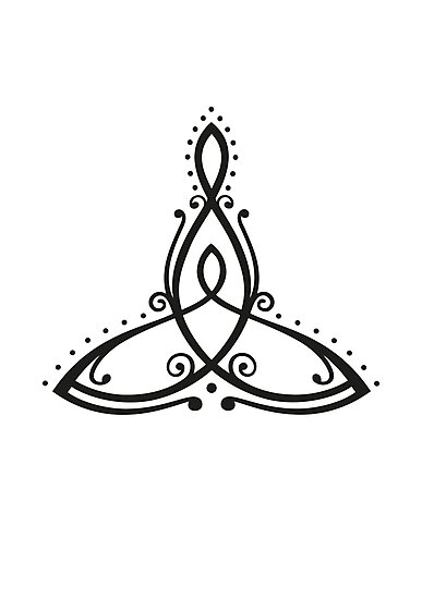 celtic symbol mother with child photographic print by. Black Bedroom Furniture Sets. Home Design Ideas