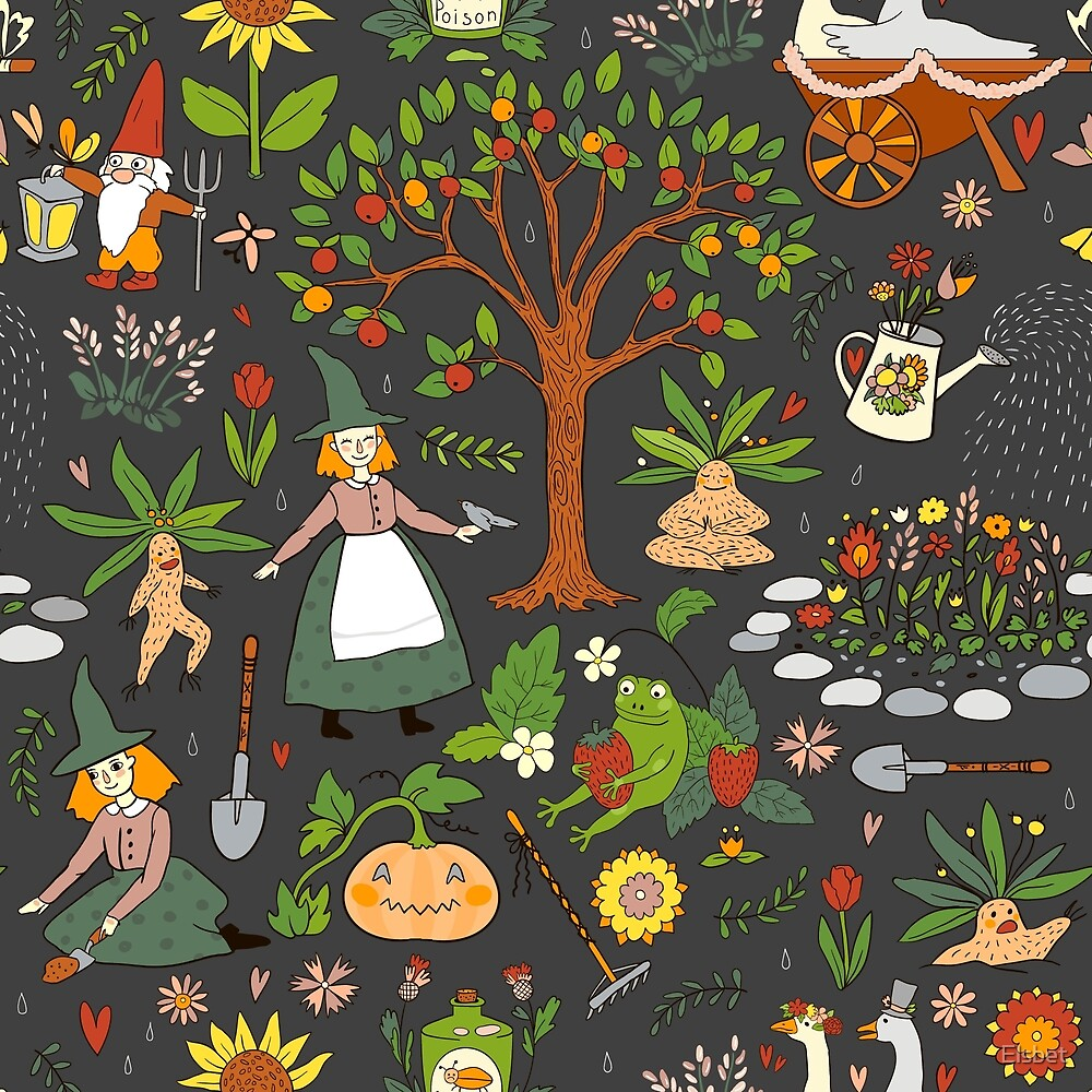 Witch Garden by Elsbet