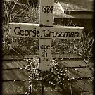 RIP Mister George Crossman by Colleen Milburn