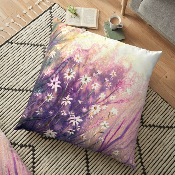Just for You - Flowers Floor Pillow