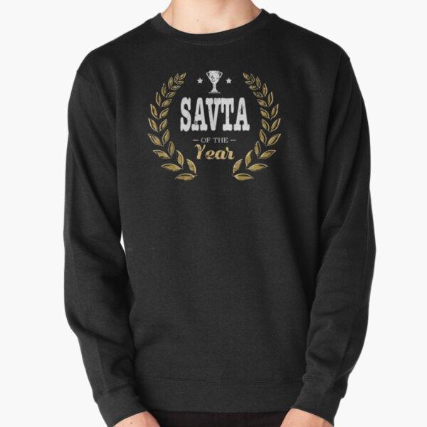 Savta Of Year Grandma Pullover Sweatshirt