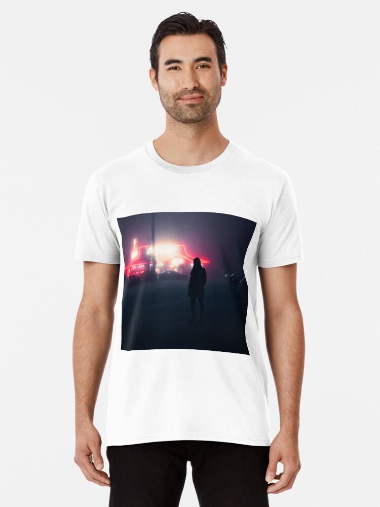 Watford Girl By Pizza Hut Mens Premium T Shirt By H Dizzle