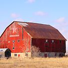 A Red Barn..... by Larry Llewellyn
