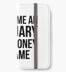 Actuary for Fame n Money iPhone Wallet/Case/Skin