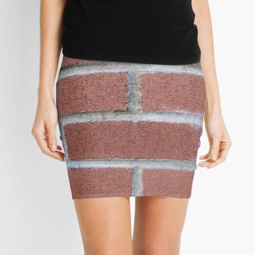 Brickwork, Masonry Mini Skirt