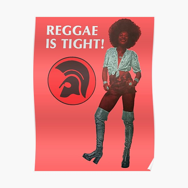 Tight Like An Afro Girl Hair Style Poster