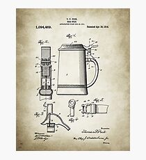 Beer patent print Photographic Print