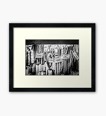 Silly Sausage Framed Print