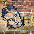 Street Art Face by Lea Valley Photographic