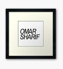 Omar Sharif Framed Print