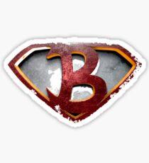 Initial B Sticker