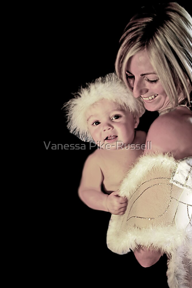 Portraits: Marley and Mum are angels II by Vanessa Pike-Russell