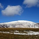 SNOW STILL ON THE HILLS by leonie7