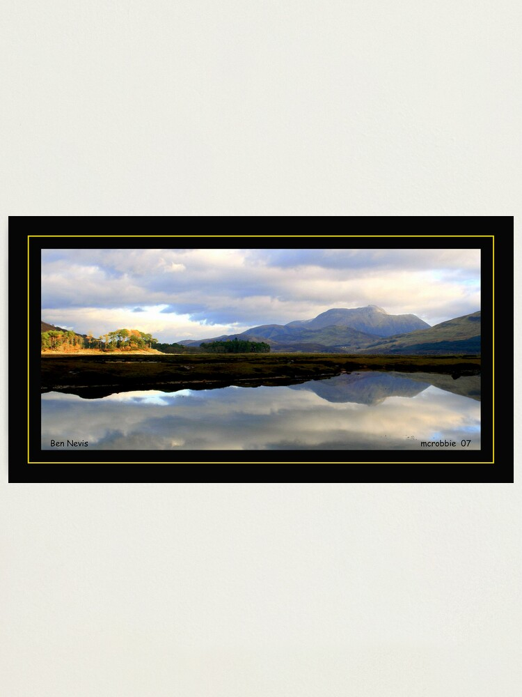 Alternate view of Ben  Nevis Photographic Print
