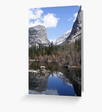 Mirror Lake ~ Yosemite National Park Greeting Card