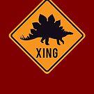Prehistoric Xing - Stegosaurus by SevenHundred