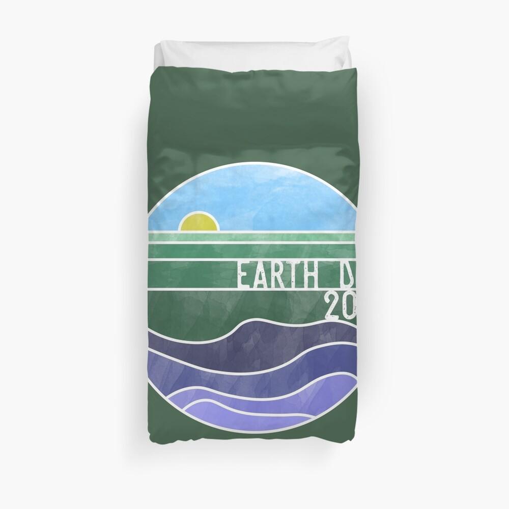 Earth Day 2018 - White Duvet Cover