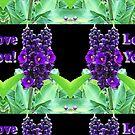 Love You on black by KazM