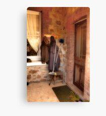 Coats and Brooms Canvas Print