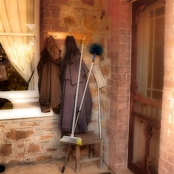 Coats and Brooms by decoaddict