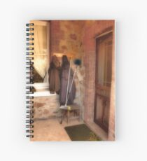 Coats and Brooms Spiral Notebook