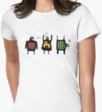 Totem people Women's Fitted T-Shirt
