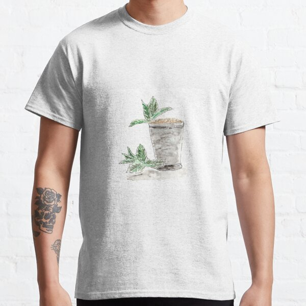 Mint Julep Watercolor, Southern, Cocktail, Kentucky Derby Classic T-Shirt
