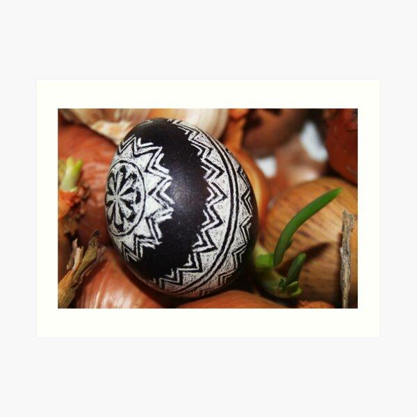 Easter Egg Art Print