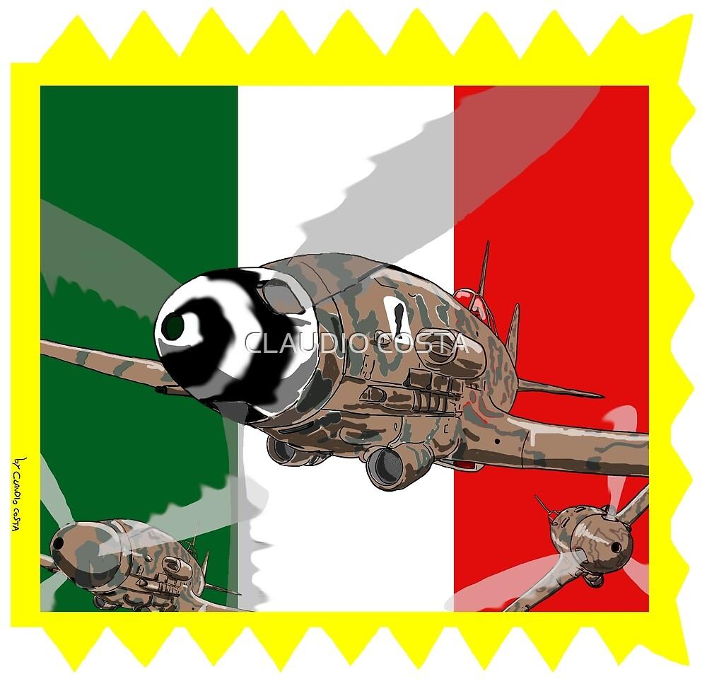 Macchi 205 Primo Gruppo Caccia Asso di Bastoni by CLAUDIO COSTA