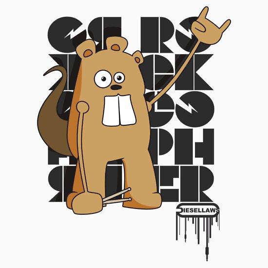 TShirtGifter presents: Rock Gopher
