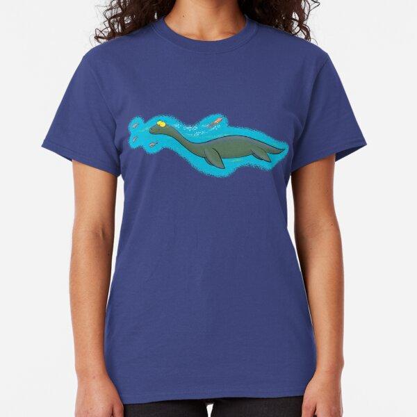 Cute sea monster or plesiosaur Classic T-Shirt