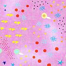 Pink Play Polka Dots by rupydetequila