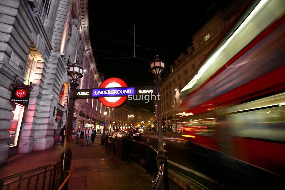 London Tube by swight