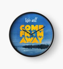 Come From Away Clock
