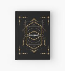 Wizard Spellbook - Magic and Curses Wizardry and Witchcraft Tabletop RPG Gaming Hardcover Journal