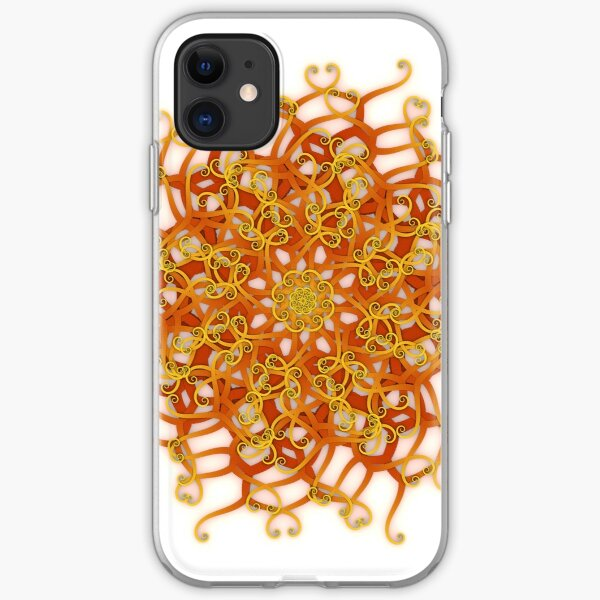 Organic Swurl 387 Number two iPhone Soft Case