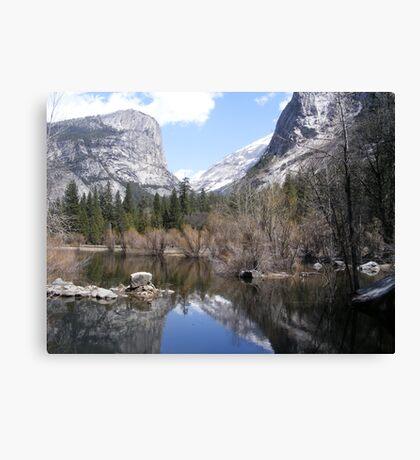 Mirror Lake ~ Yosemite National Park #2 Canvas Print
